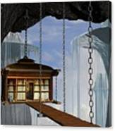 Hanging House Canvas Print