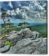 Hanging Rock Overlook Canvas Print