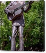 Hank Williams Statue - Montgomery Alabama Canvas Print