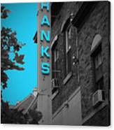 Hanks Oyster Bar Canvas Print