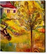 Hannah's Magical Wish Granting Tree Canvas Print