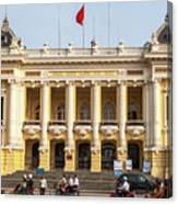 Hanoi Opera House 01 Canvas Print