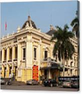 Hanoi Opera House 02 Canvas Print