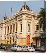 Hanoi Opera House 04  Canvas Print