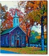 Hanover Church - Fall Canvas Print