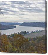 Hanover College View Canvas Print