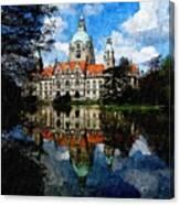 Hanover Germany Catus 1 No. 1 H B Canvas Print