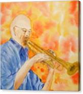 Hanson On Trumpet Canvas Print