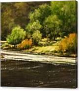 Lewis River Lagoon Canvas Print