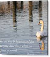 Happiness Is Canvas Print