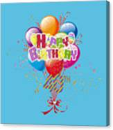 Happy 40th Birthday Canvas Print