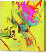Happy Anniversary Abstract  Canvas Print