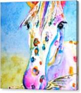 Happy Appy Canvas Print