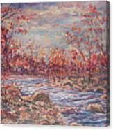 Happy Autumn Days. Canvas Print