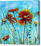 Happy Blanket Canvas Print