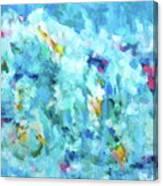 Happy Blue Sky Canvas Print