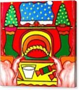 Happy Christmas 17 Canvas Print