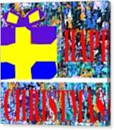 Happy Christmas 88 Canvas Print