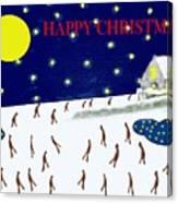 Happy Christmas 27 Canvas Print
