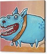 Happy Dawg Canvas Print