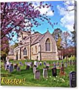 Happy Easter Canvas Print