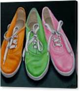 Happy Feet Canvas Print
