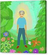 Happy Garden Canvas Print