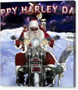 Happy Harley Days Canvas Print