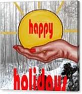 Happy Holidays 26 Canvas Print