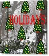 Happy Holidays 29 Canvas Print