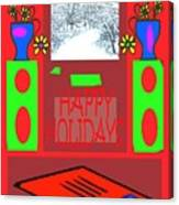 Happy Holidays 98 Canvas Print