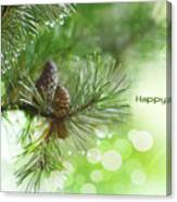 Happy Holidays Too Canvas Print