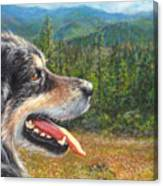 Happy In Oregon Canvas Print