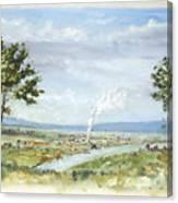 Happy Land Canvas Print