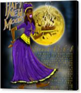Happy New Moon Sirach 43 Canvas Print