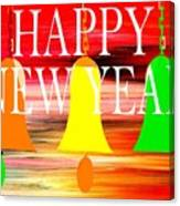 Happy New Year 10 Canvas Print