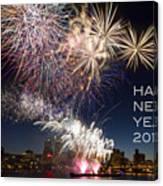 Happy New Year 2016 Canvas Print