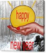 Happy New Year 22 Canvas Print