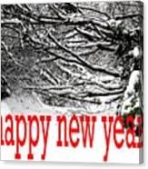Happy New Year 33 Canvas Print
