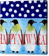 Happy New Year 5 Canvas Print
