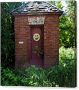 Happy Outhouse Canvas Print