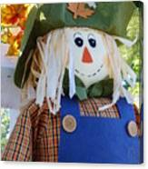 Happy Scarecrow Canvas Print
