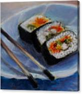 Happy Sushi Canvas Print