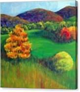 Happy Valley Hills Canvas Print