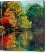 Happy Valley Pond Canvas Print