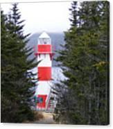 Harbor Breton Lighthouse Canvas Print