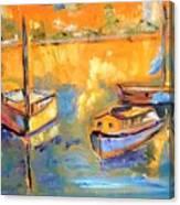 Harbor Day Canvas Print