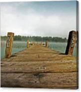 Harbor Dock Canvas Print