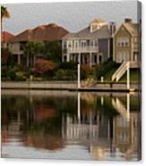Harbor Homes Canvas Print