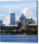 Harbor Island Florida Canvas Print